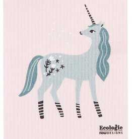 Now Designs Unicorn Swedish Dishcloth