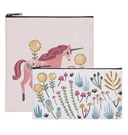 Now Designs Unicorn Snack Bags set of 2