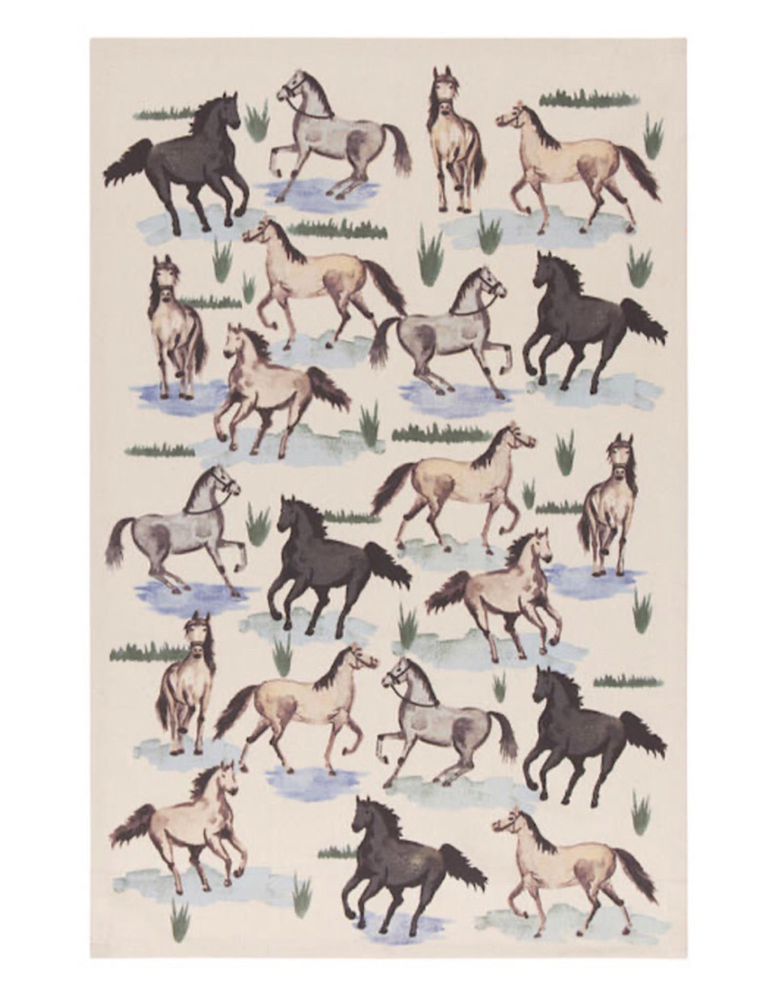 Now Designs Tea Towel All the pretty horses