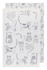 Now Designs Tea Towel Purr Party Set of 2