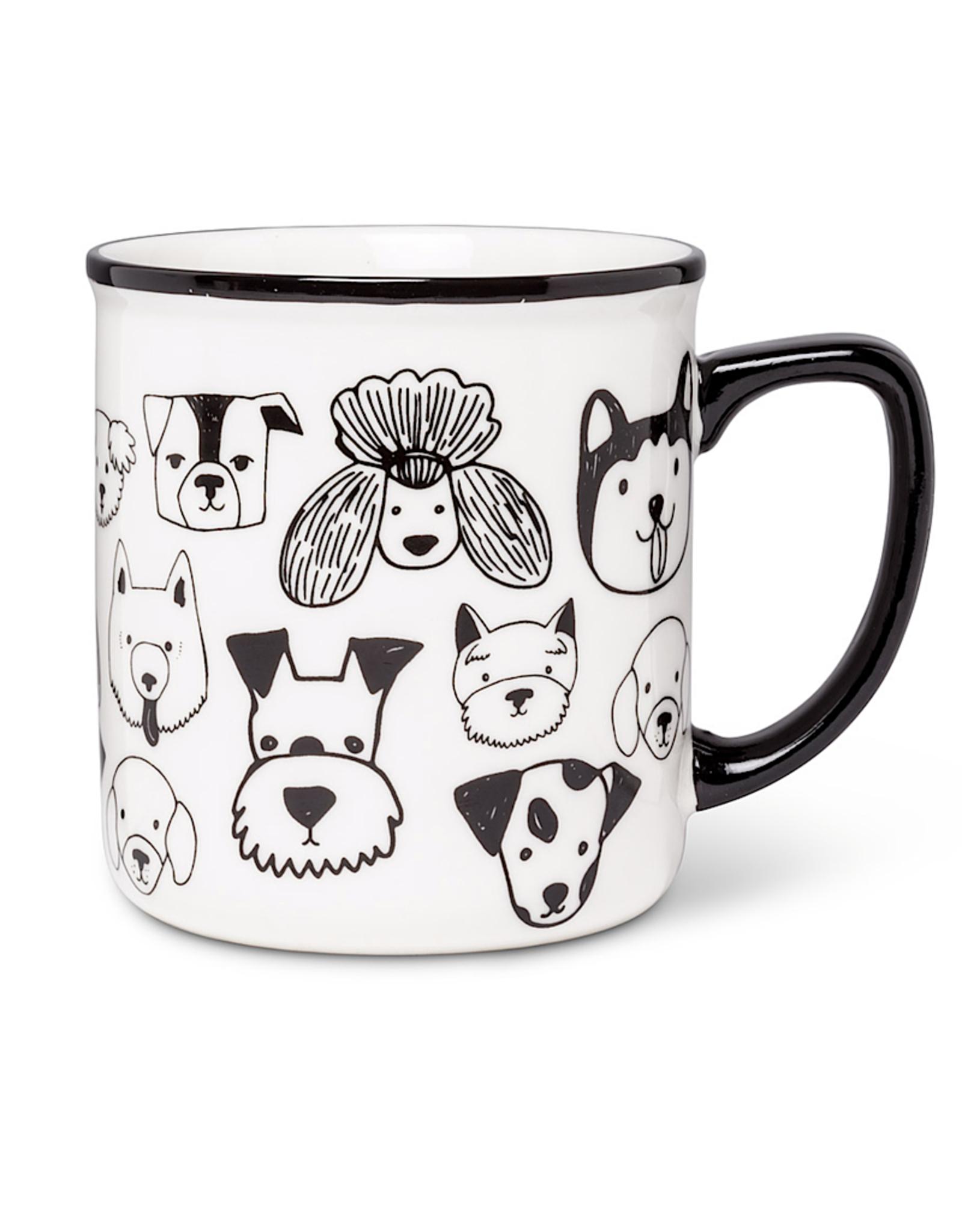 Simple Dog Face Mug