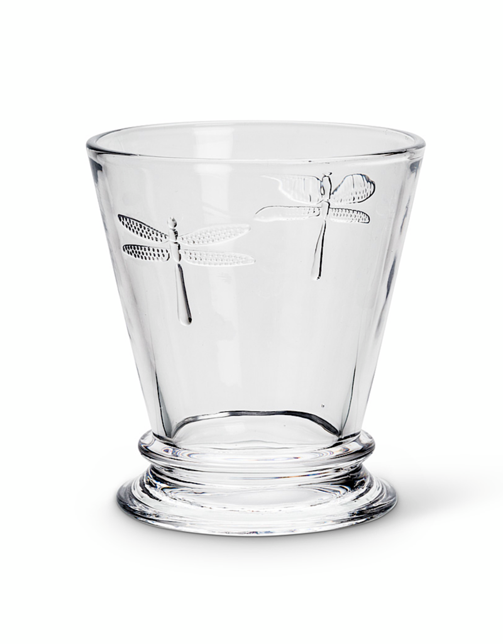 "Dragonfly Glass Tumbler 4"" 8oz"