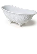 """Soap Dish Bathtub white 6.5""""L"""