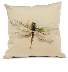 "Dragonfly Pillow 18"" square"