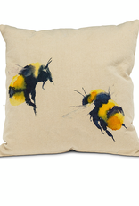 """Bee Bee Pillow 18"""" Square"""
