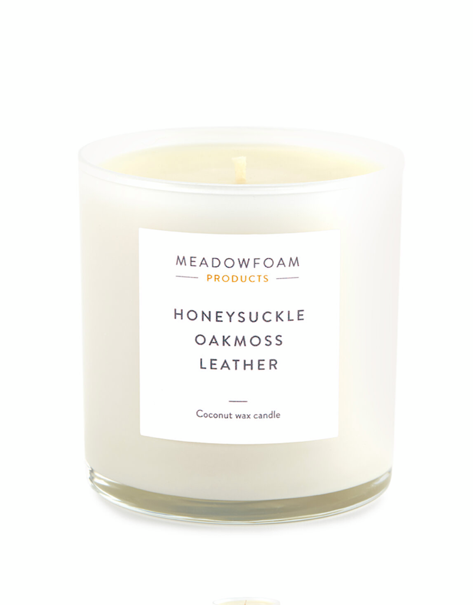 Meadowfoam 13.5oz Candle COTTON Wick in Cocktail Glass