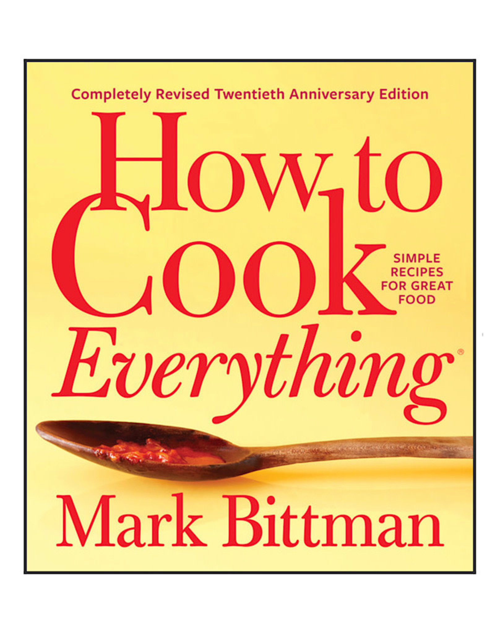 How to Cook everything Bookbook
