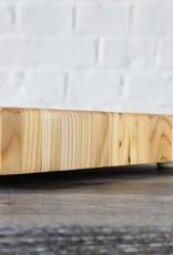 Wood Tiger Stripe Buffet Board #1  21 x 7 x 2.5 inches
