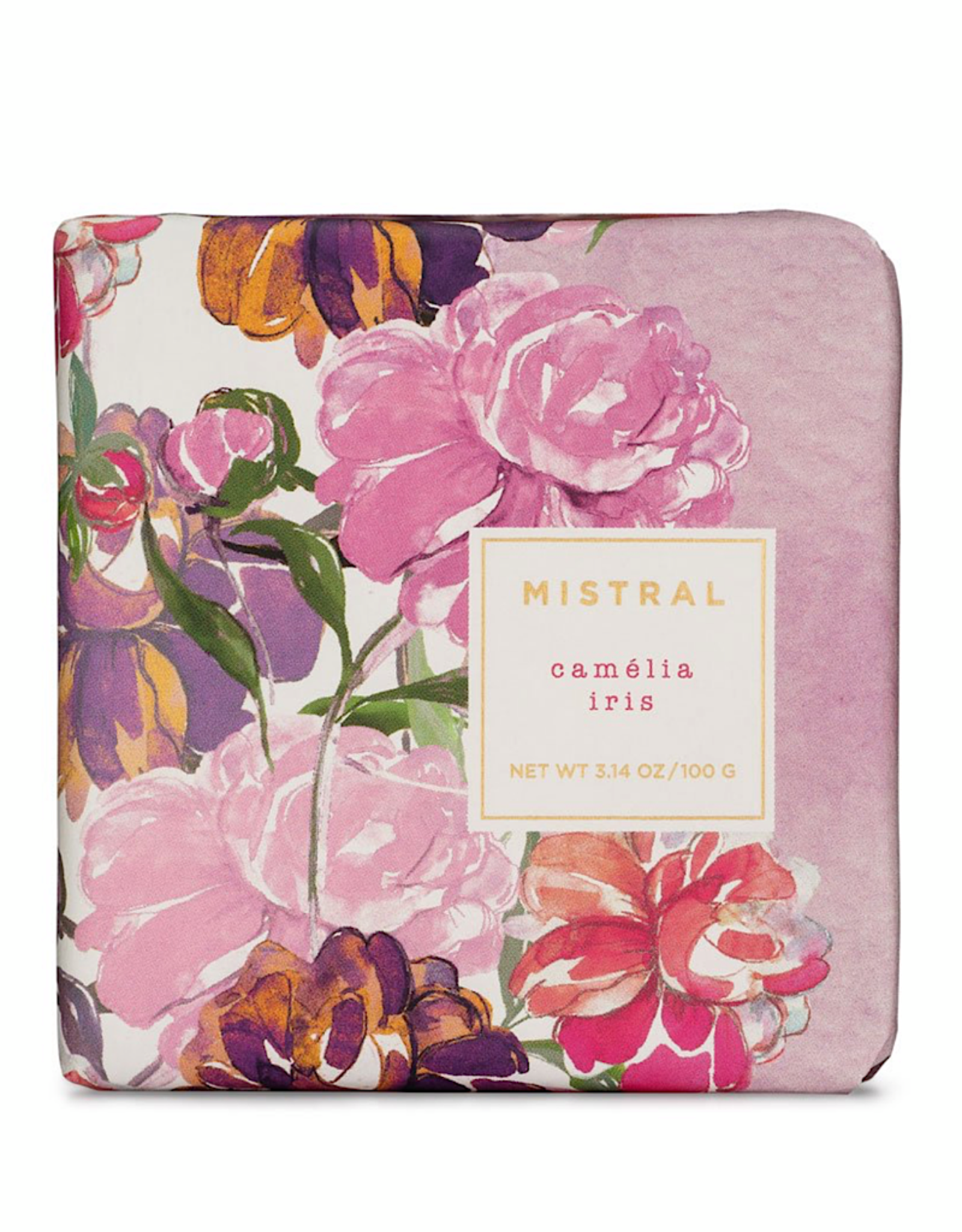 Mistral 100g Soap Exquisite Florals Bar