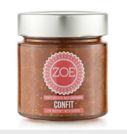 Zoe Zoe Fig Chutney with ginger