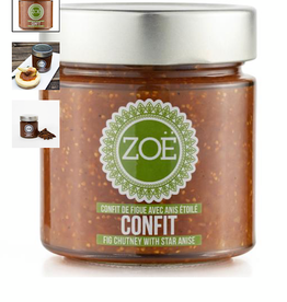 Zoe Zoe Fig Chutney with star anise