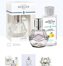 Lampe Berger Geometry Clear Gift Set