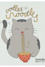 Now Designs Swedish Dishcloth Odles of Noodles