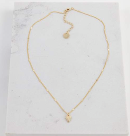 EVERLY HEART NECKLACE - GOLD