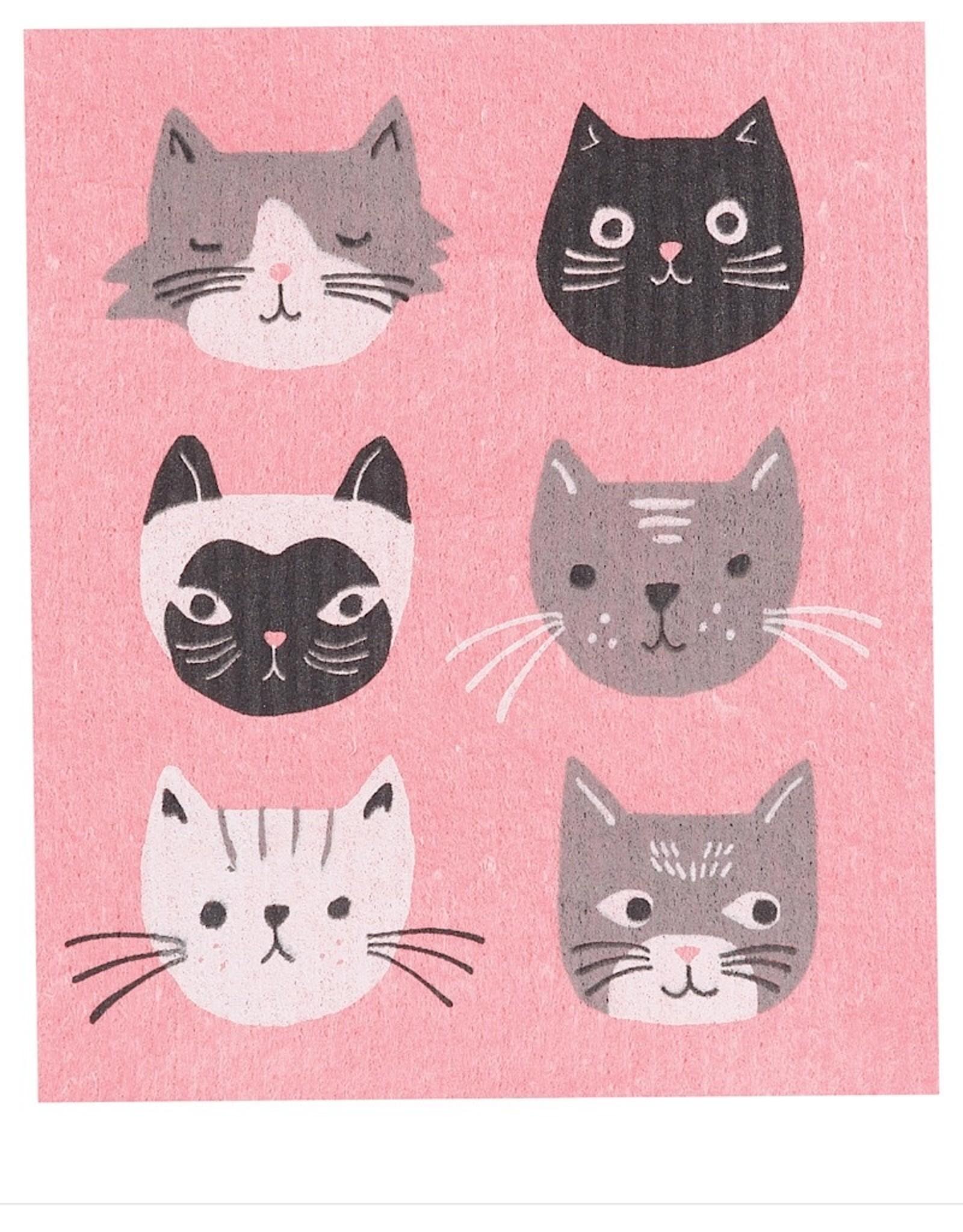 Now Designs Swedish Dishcloth Cats Meow