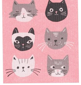 Now Designs Swedish Dishcloth Cats Meow