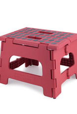 Kikkerland Kikkerland step stool Red