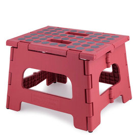 Kikkerland Kikkerland step stool Red