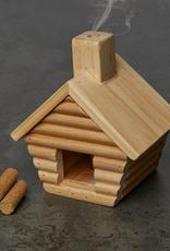 Kikkerland LC01 Little Cabin Incense Burner