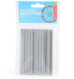 Kikkerland BB34 Bike Spoke Reflector Set of 12