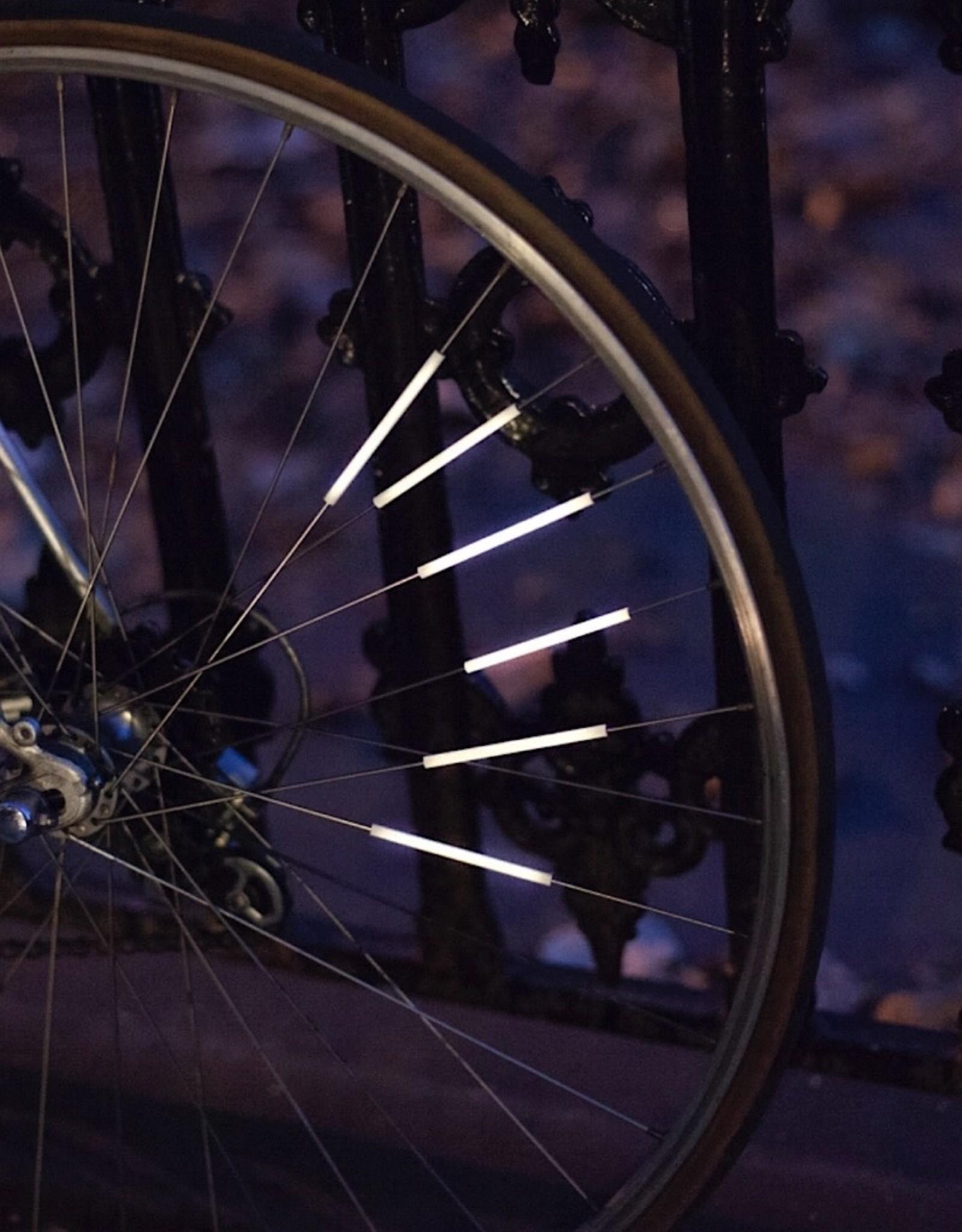 Kikkerland Bike Spoke Reflector Set of 12