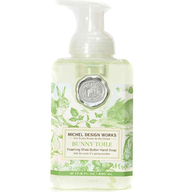 FOA338 Bunny Toile Foaming Soap