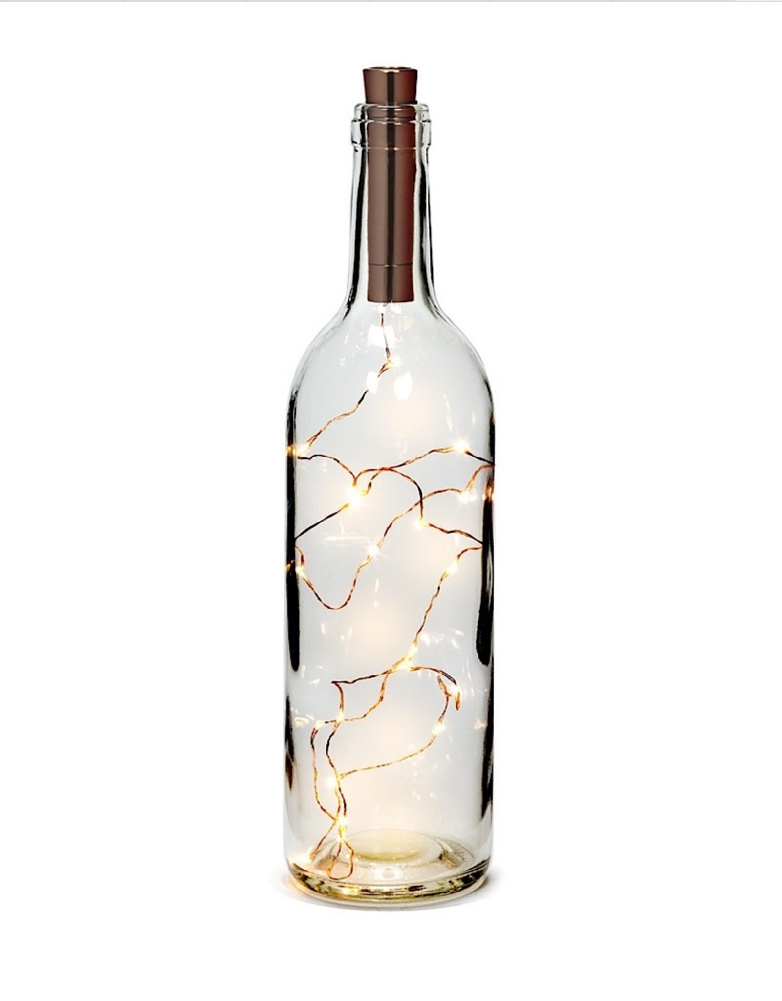 "20 Led Bottle Lightstring Cop 39"""
