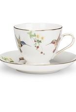 Hummingbird Cup & Saucer (2 PIECES)