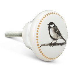 Chickadee Door Knob