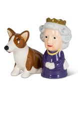 Queen and Corgi Salt & Pepper Shaker