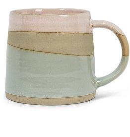 Rustic Style Mug Pink