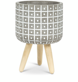 Dot Tripod Planter 7""