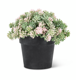 Light Pink Leaf Plant Pot 5.5""