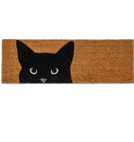 Peeking Cat Small Doormat