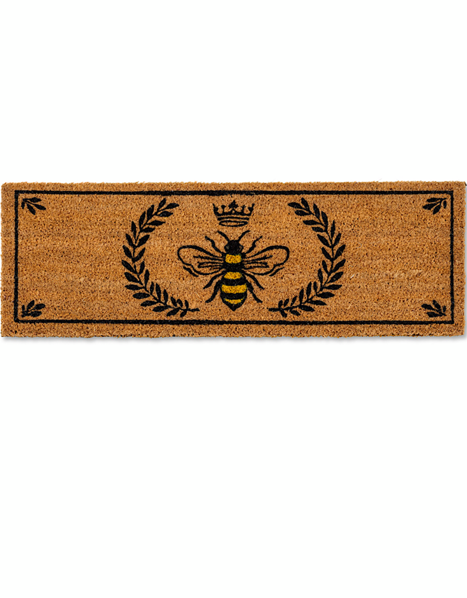 Balcony Doormat Bee in crest 10x30""
