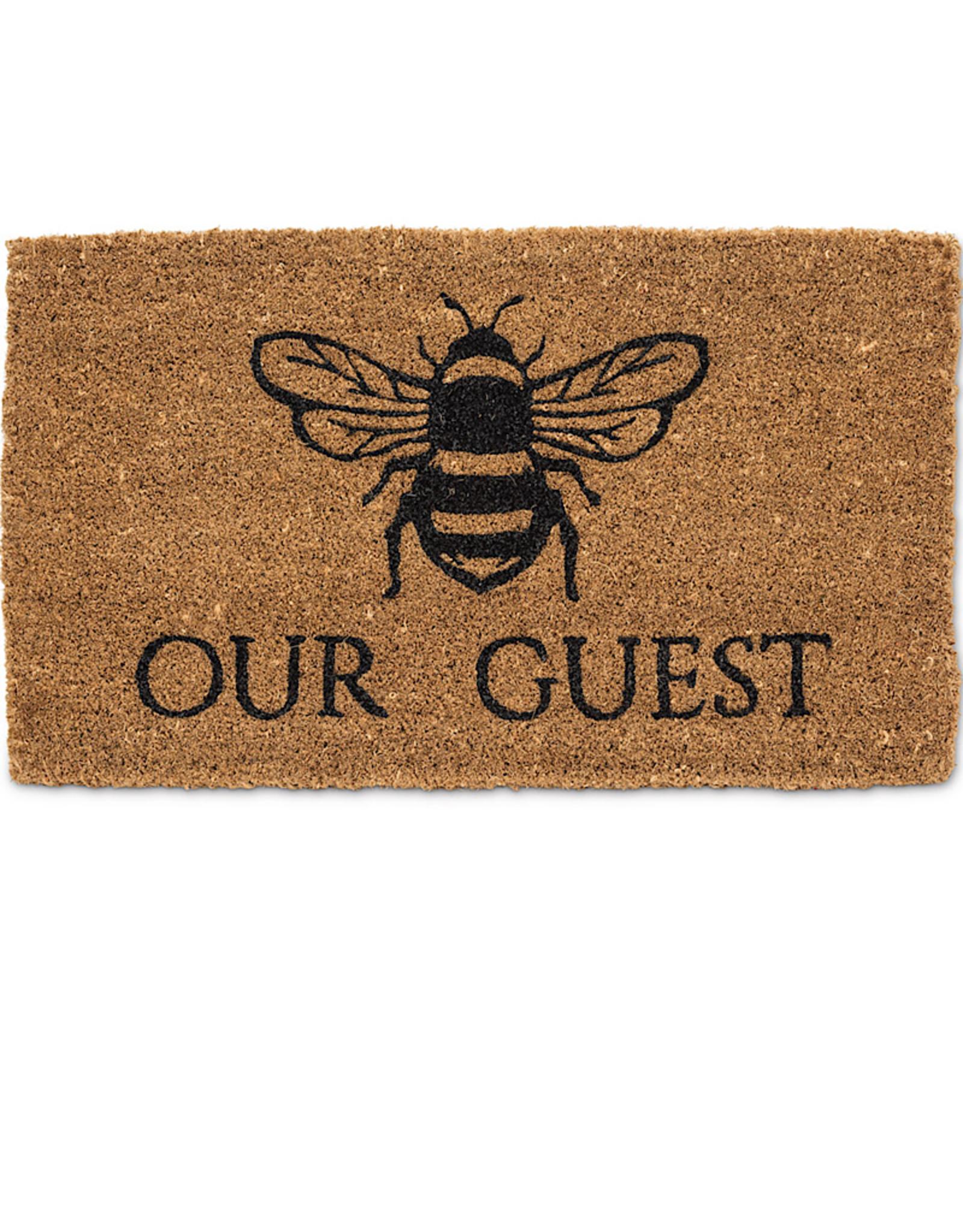 """Bee Our Guest Doormat-18X30""""L"""