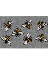 """Buzzing Bee Doormat-18X30""""L"""