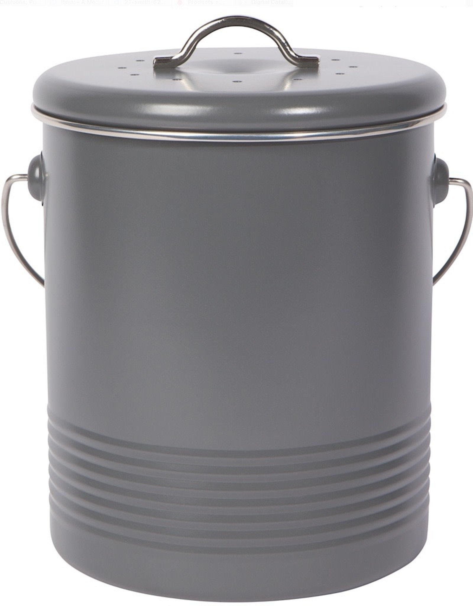 Now Designs Compost Bin Charcoal