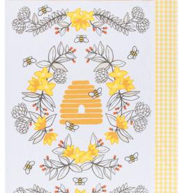 Now Designs Tea Towel Set 2 Bees