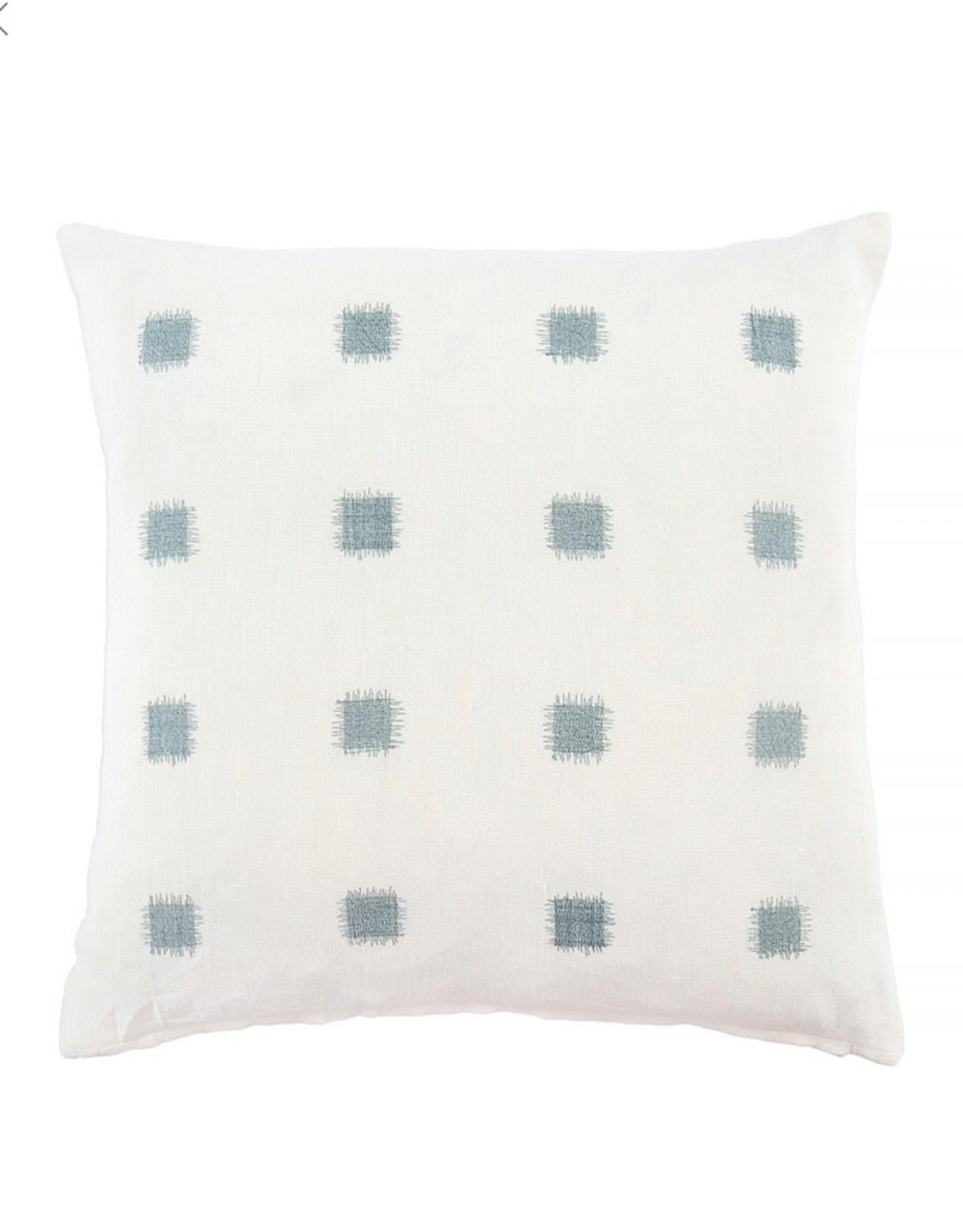 Ikat Stitch Sage Pillow 20x20