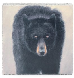 Cedar Mountain Small Art Block Black Bear