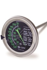 Glow meat/poultry thermometer