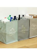 Kikkerland Recycling Station Set of 3