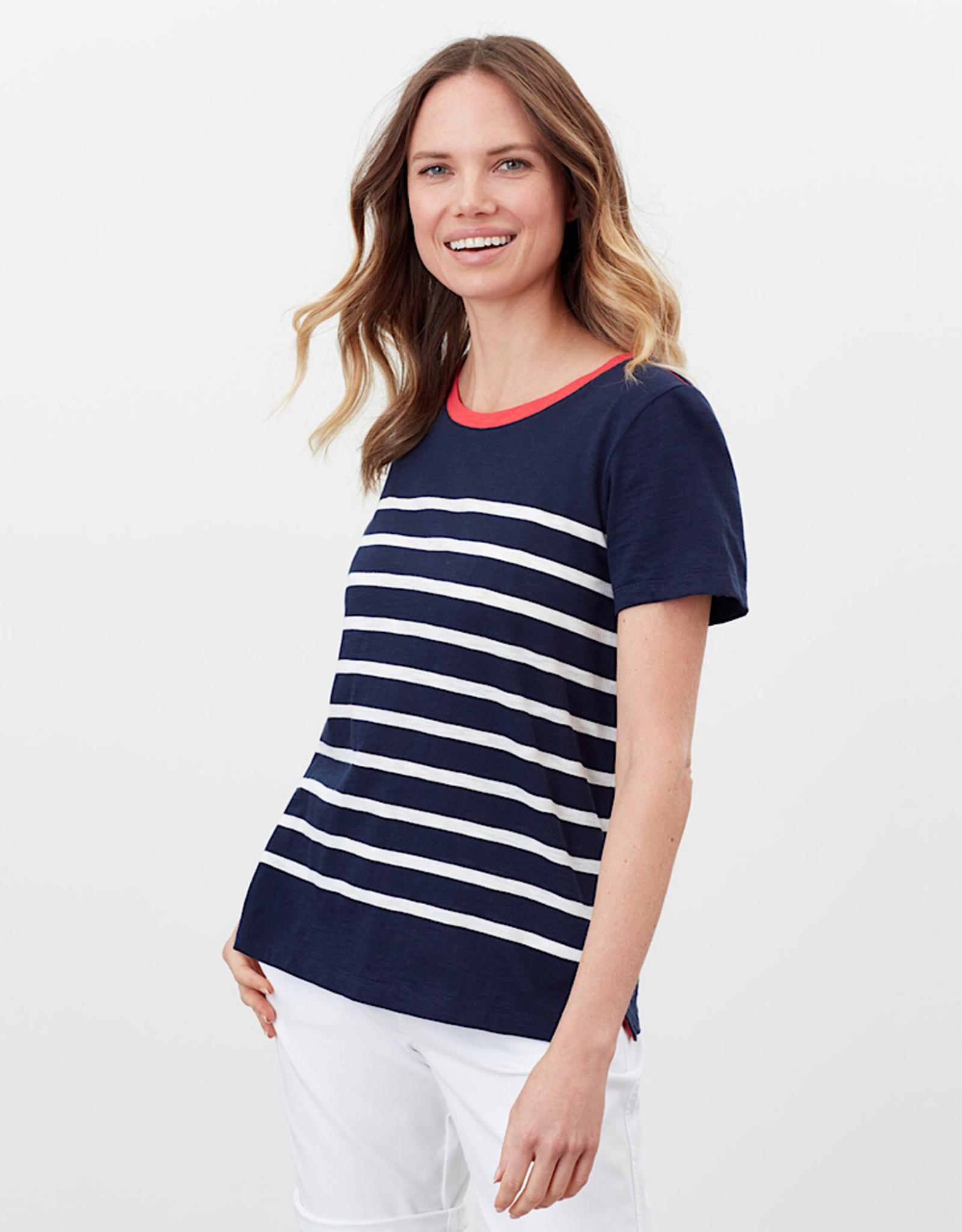 Joules T-shirt Carley Stripe