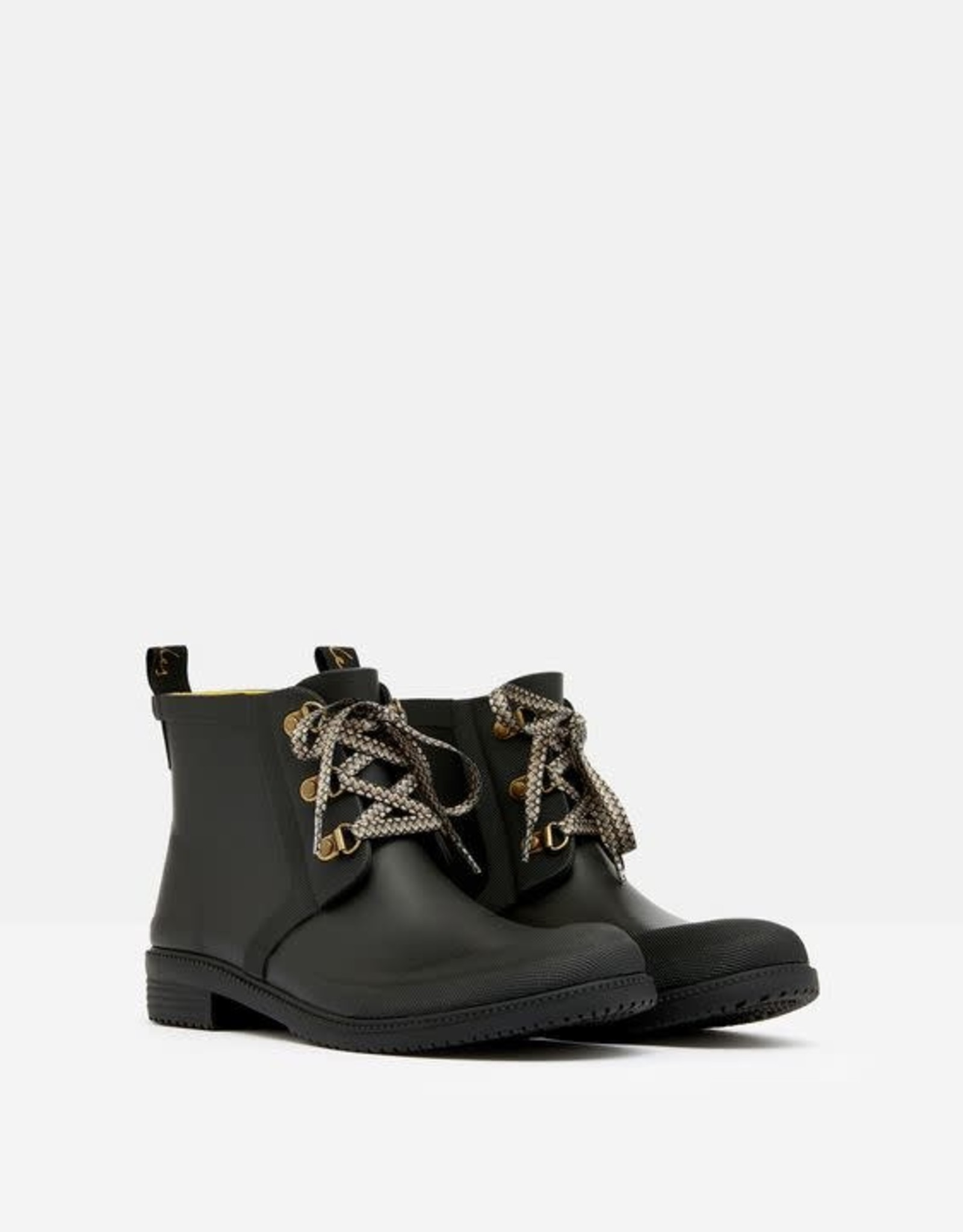 Joules Ashby Lace Chelsea Boot Black