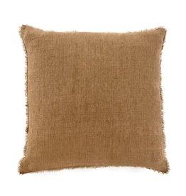 Lina Linen Pillow Hazelnut 24x24
