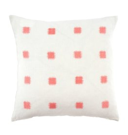 Ikat Stitch Coral Pillow 20x20