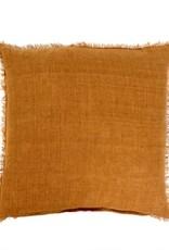 Lina Linen Pillow 24x24 Gold