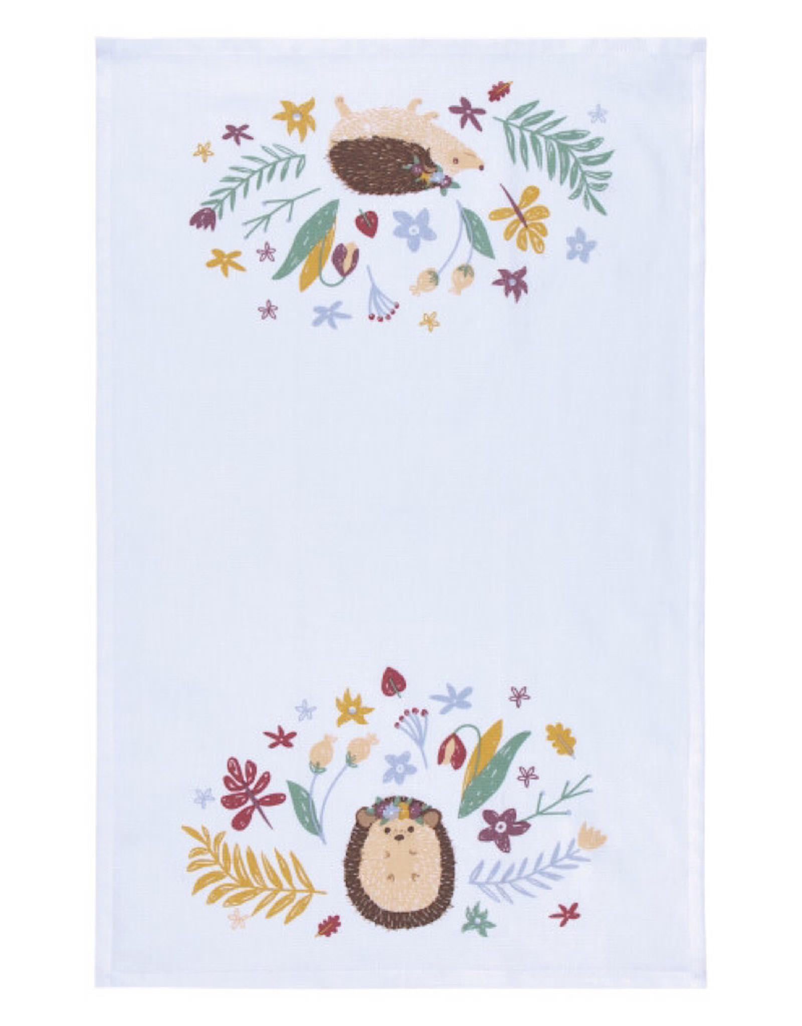 Now Designs 2177345 Tea Towel Hedge Hugs