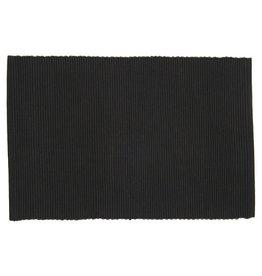 """Placemat spectrum black 13""""x19"""" 100% Cotton"""